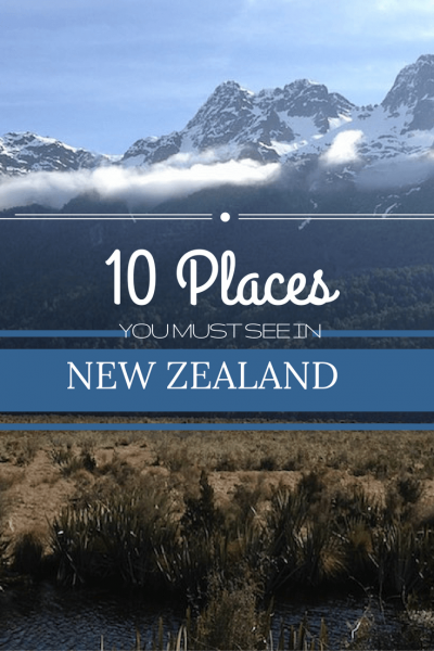 10 Places You MUST Visit in N.Z. | Travel Far Enough | We loved N.Z. It could be so easy to lose yourself for months exploring this beautiful place. Here are 10 Things You MUST See - some are off the usual track.