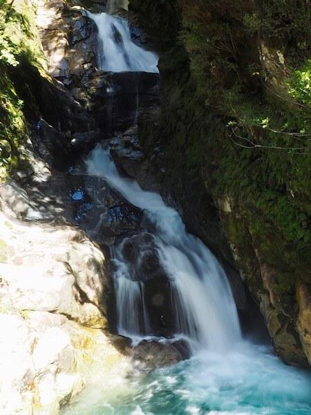 Waterfalls... everywhere along the Te Anau - Milford route.