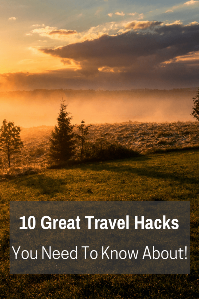 10 Great Travel Hacks | We've travelled a bit. Picked up some tips here and there. Learned from our mistakes (alot). So, here are a few quick travel hacks for your next adventure!