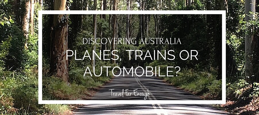 Discovering Australia.Planes, Trains of Automobile-.POST