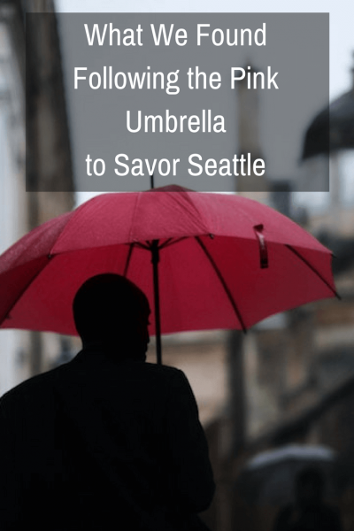 What We Found Following The Pink Umbrella to Savor Seattle| Pike Place Market is one of the oldest operating farmer's markets in the United States. Following the pink umbrella, we Savor(ed) Seattle.