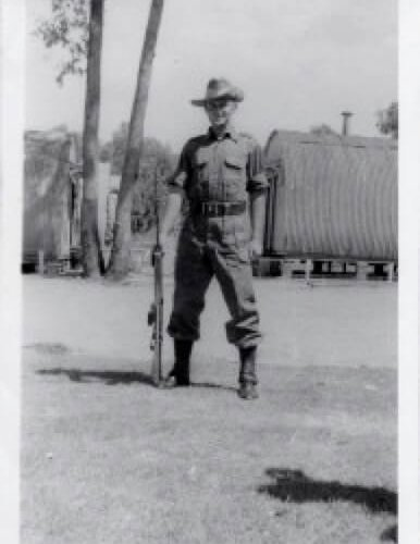 George Soper. Army. 20 yrs old.