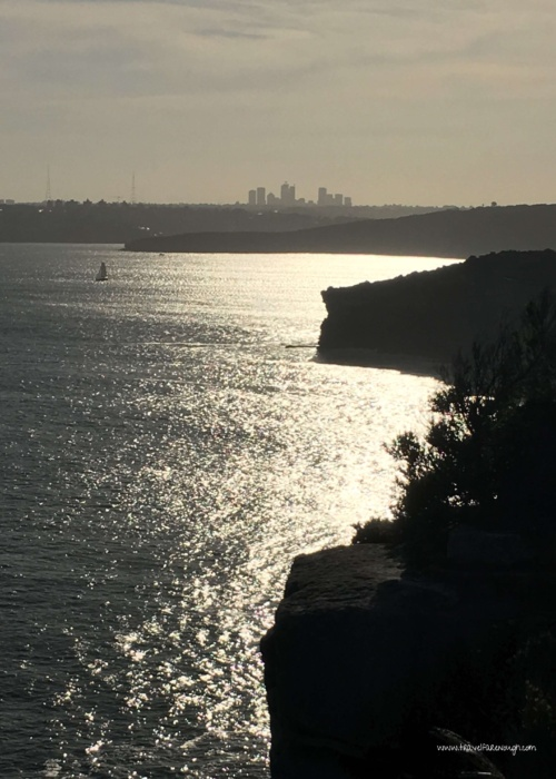 On the north side of the city lies North Head, one of the gateways to Sydney Harbour. You can take the ferry to Manly and bus/taxi up the hill, or drive.  It's a beautiful spot.  I know.  I used to live up there in one of the two isolated houses on the headland.