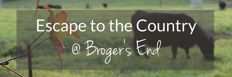 Broger's End Post Header