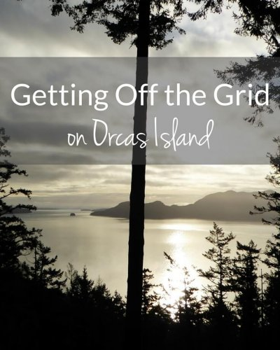 Experience the remote wilderness by getting off the grid on Orcas Island, Washington. It's truly is like visiting another world.