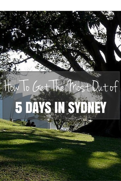 How To Get the Most Out of 5 Days in Sydney | You have 5 days to explore Sydney? That's not a lot of time. That's okay. We'll guide you through five unbelievable days.