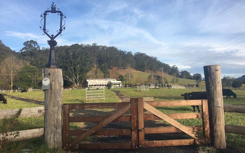 Broger's End gate
