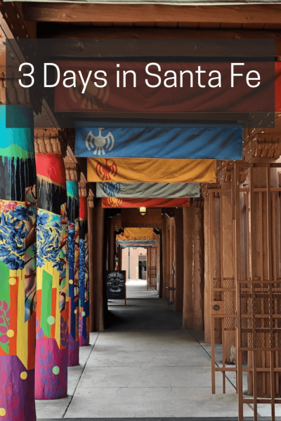 3 days in Santa Fe | Travel Far Enough | Santa Fe and Taos are beautiful, calming and spiritual. Culture springs forth everywhere you turn. Here's your guide for 3 unforgettable days.