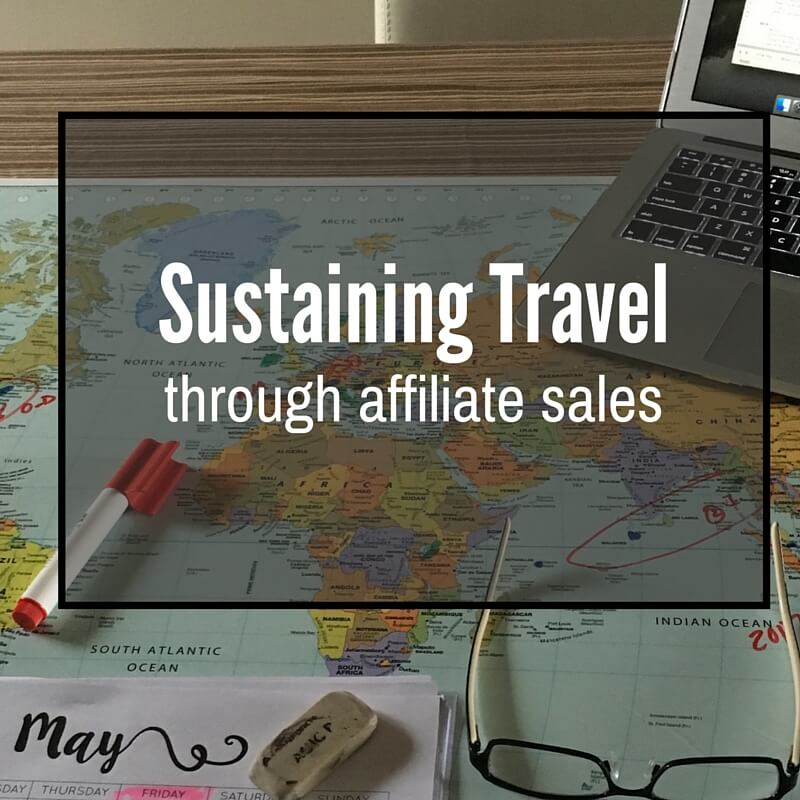 Sustaining Travel Through Affiliate Sales