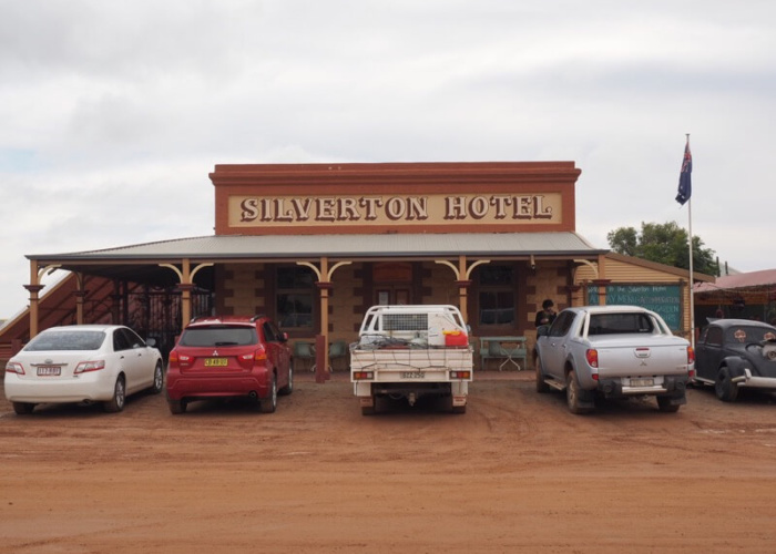 Unique can also describe the world-famous Silverton pub.