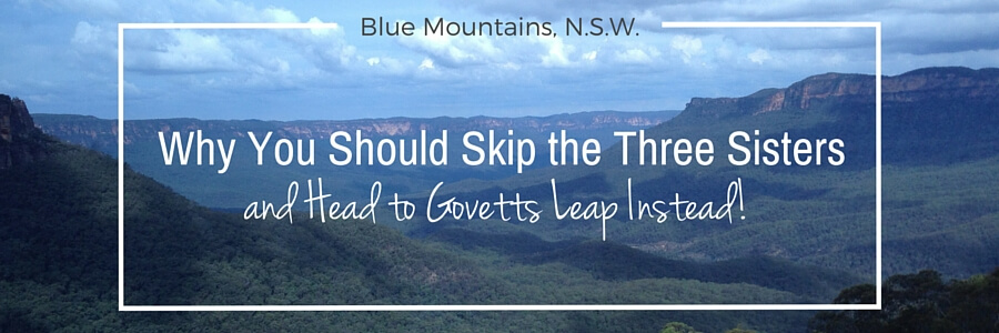 Govett's Leap Blue Mountains NSW Australia