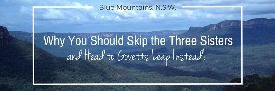 Govett's Leap Blue Mountains NSW Australia