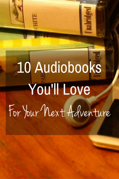 10 Audiobooks You'll Love For Your Next Adventure | Whether it's sitting at an airport waiting for your next flight or cruising down a lonely stretch of highway, a good audiobook is a great companion.