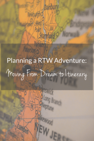 Moving Dream to itinerary