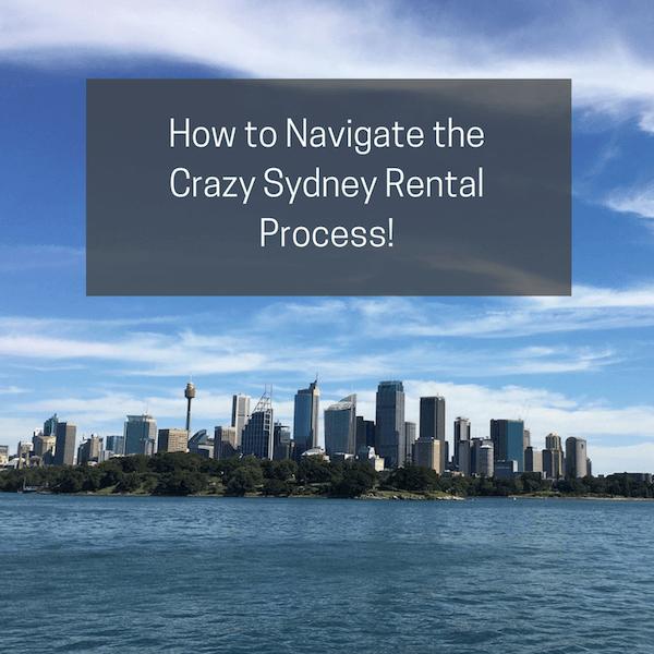 How to Navigate the  Crazy Sydney Rental Process!
