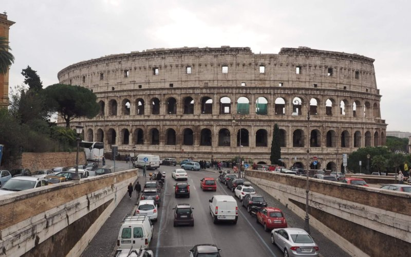 All roads lead to... The Colosseum