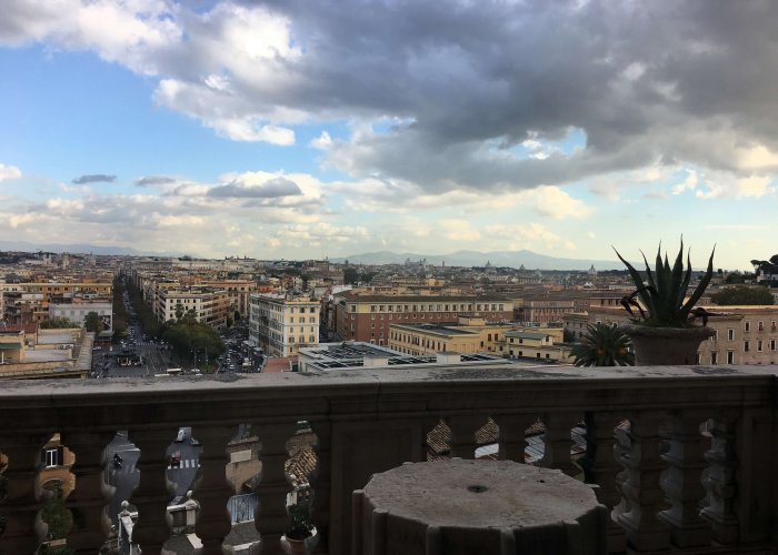 Views of Vatican City and Rome beyond... from the Vatican