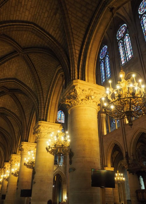 Notre Dame Lighting