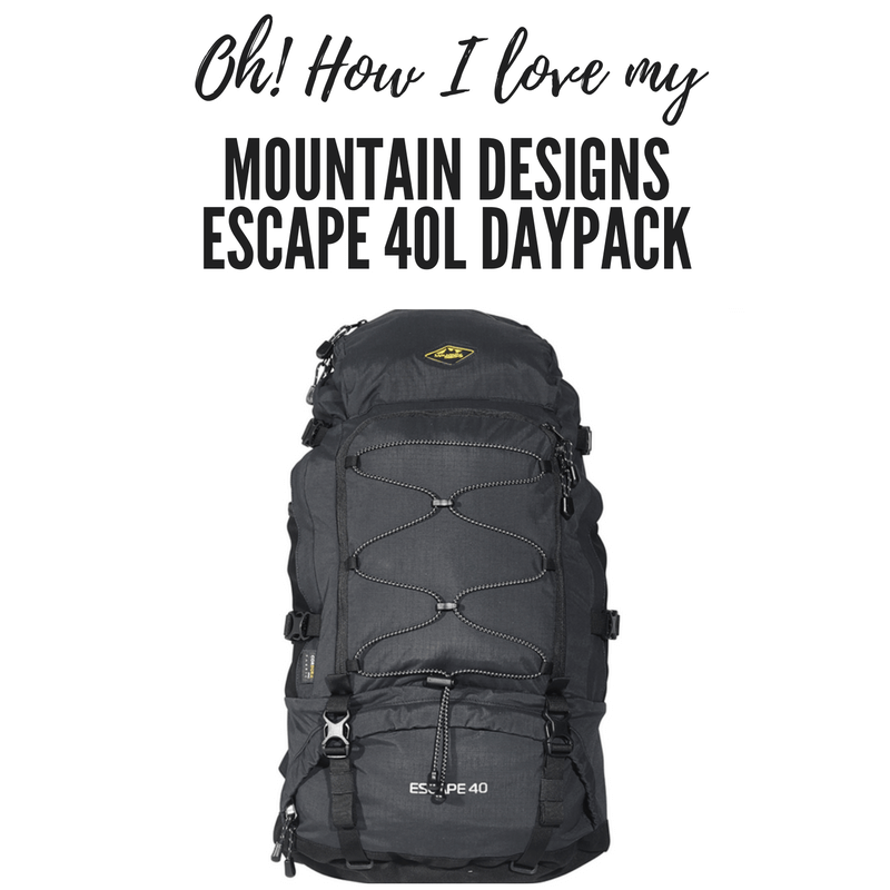 Oh how I love my Mountain Designs Escape 40L Daypack