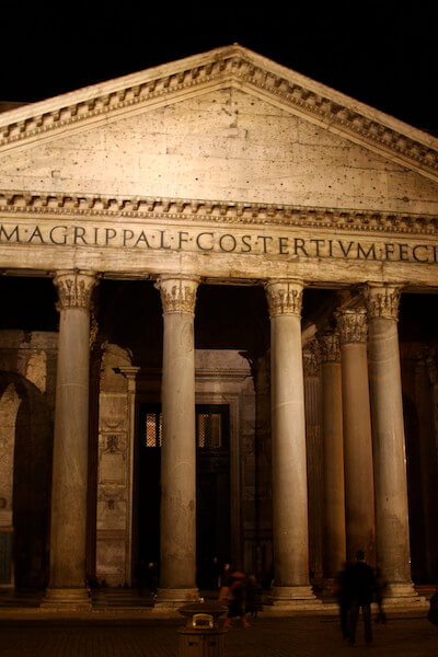 The Pantheon as you will rarely see it... without the crowds.