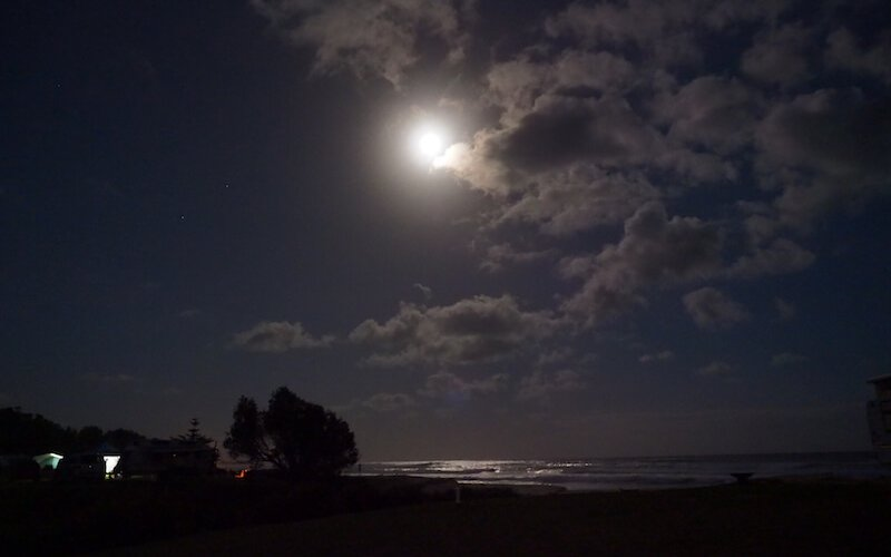 Moonlight over Beachcomber