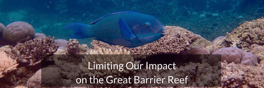 Limiting Out Impact on the Great Barrier Reef