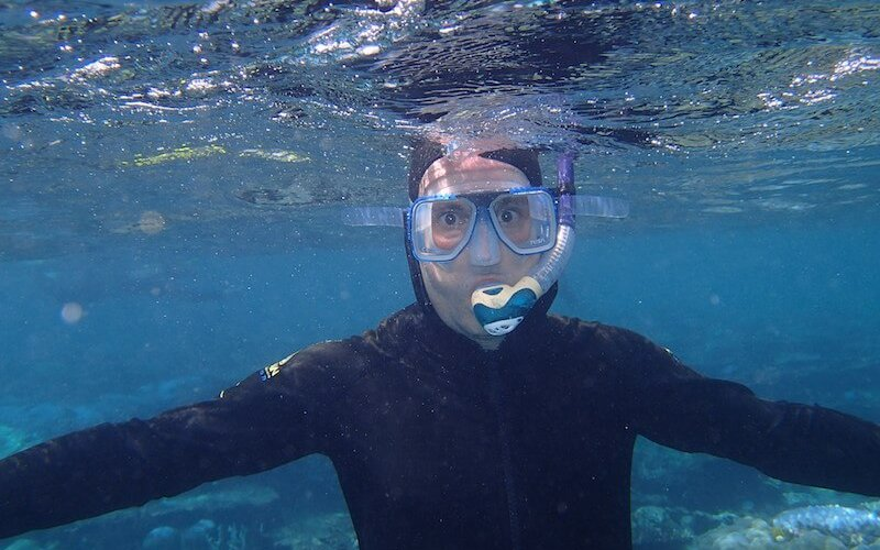 snorkelling barrier reef