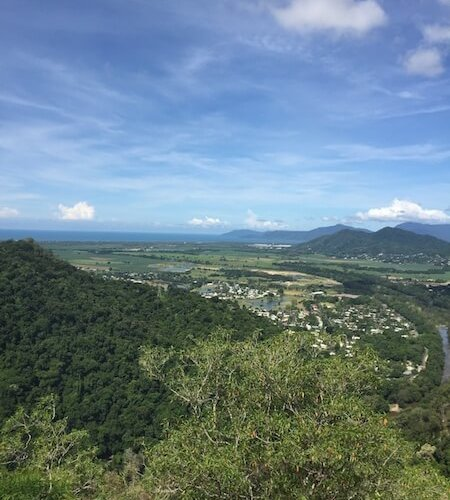 View of Cairns from the Skyrail.