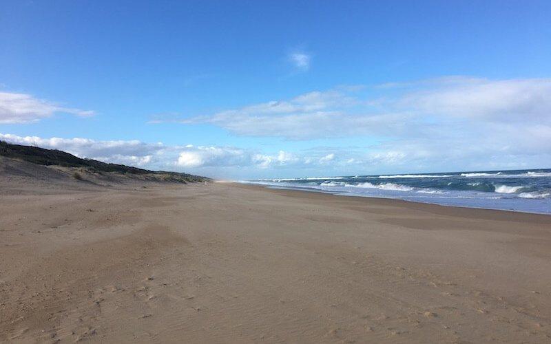 90 mile beach at Loch Sport