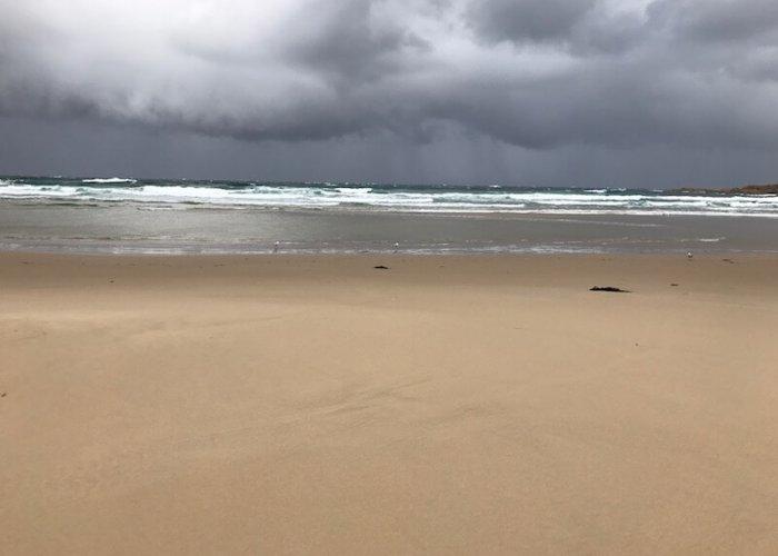 A storm brewing off Honeymoon Bay