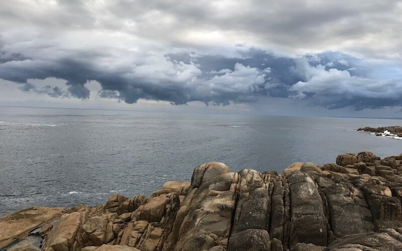 Point Hicks storm brewing