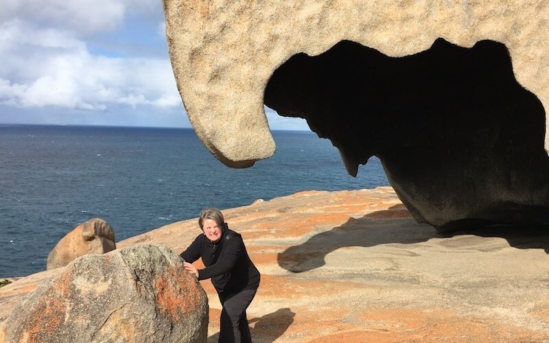 I can move the Remarkable Rocks!