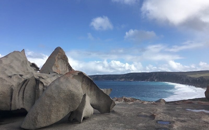 View from Remarkable Rocks toward Cape Du Couedic