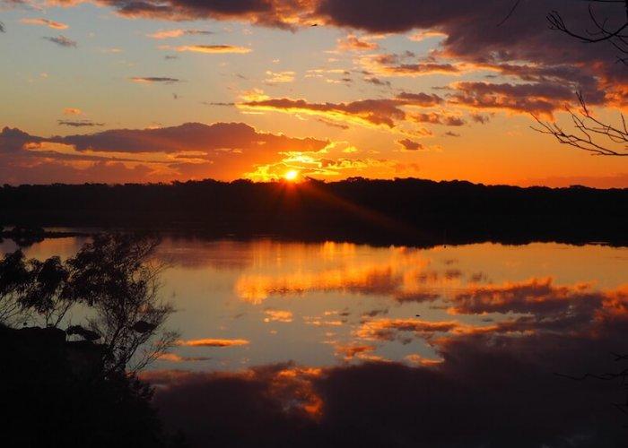 sunrise on Blackwood River