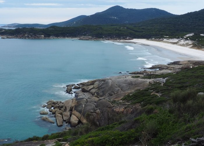 Overlooking Squeaky Beach at Wilsons Prom