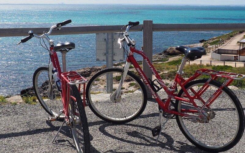 bikes on rottnest
