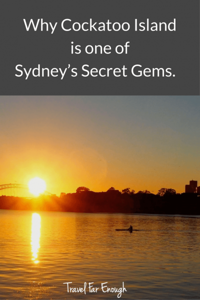 Why Cockatoo Island Is One of Sydney's Secret Gems | Travel Far Enough | While most Sydneysiders know about Cockatoo Island, few have ever visited, let alone stayed overnight. When I was offered an opportunity to go glamping ...