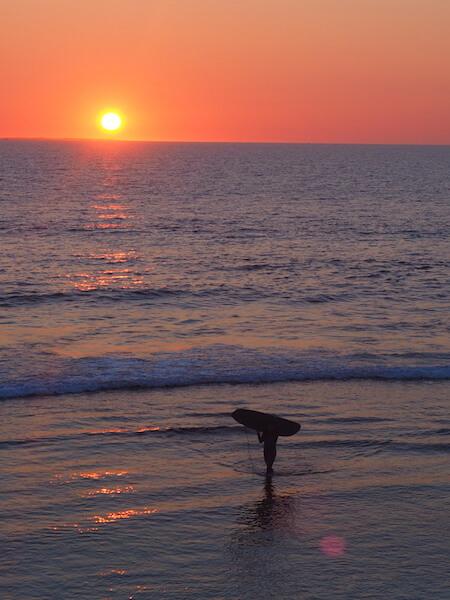 Cotteloe sunset