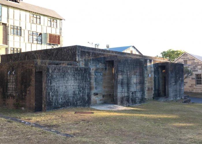convict on Cockatoo Island