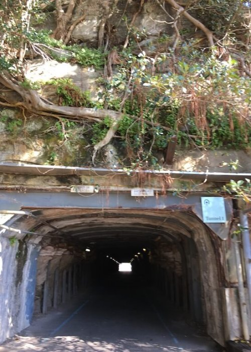 The Tunnels on Cockatoo Island