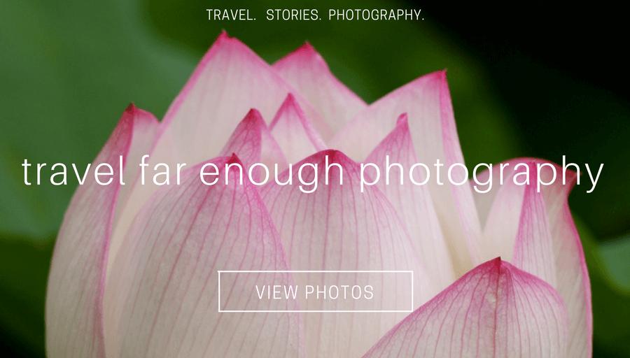 travel far enough photography.Website