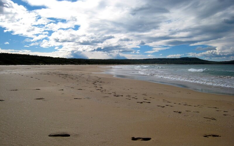 Sand like Cake Batter at South Durras Beach