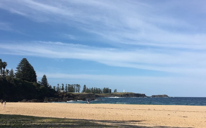 Kiama from Kendalls Beach