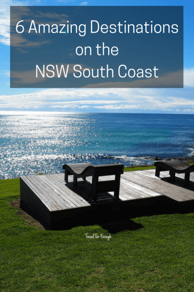 6 Amazing Destinations on the N.S.W. South Coast   Travel Far Enough   The south coast of N.S.W is beloved by tourists and locals alike. In fact, try and find a place anywhere on the south coast between mid-December and January and you will sorely out of luck. Sure, you may get lucky, due to a cancellation, but it's a place Aussies love to escape to during summer. And fair enough too - it's an amazing coastline with a lot of offer.