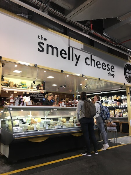 Smelly Cheese at the Adelaide Central Market.