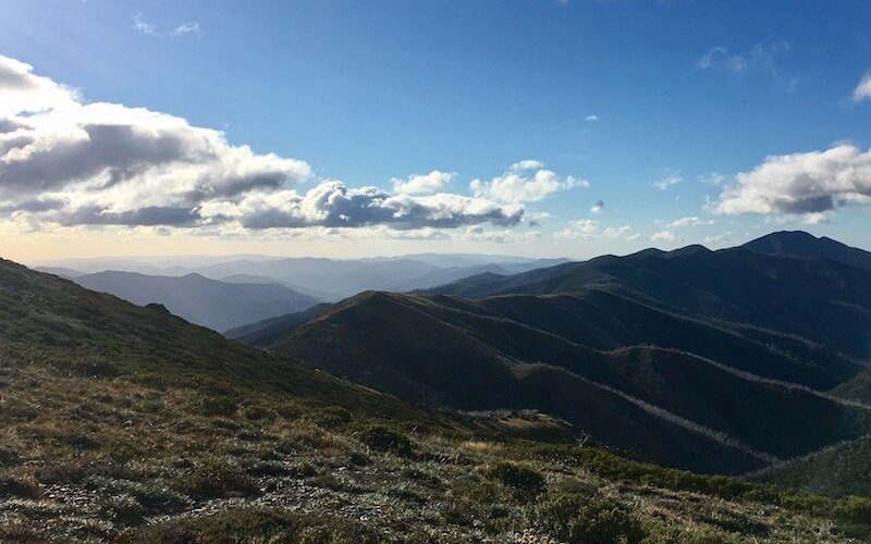 The views from Mount Hotham.