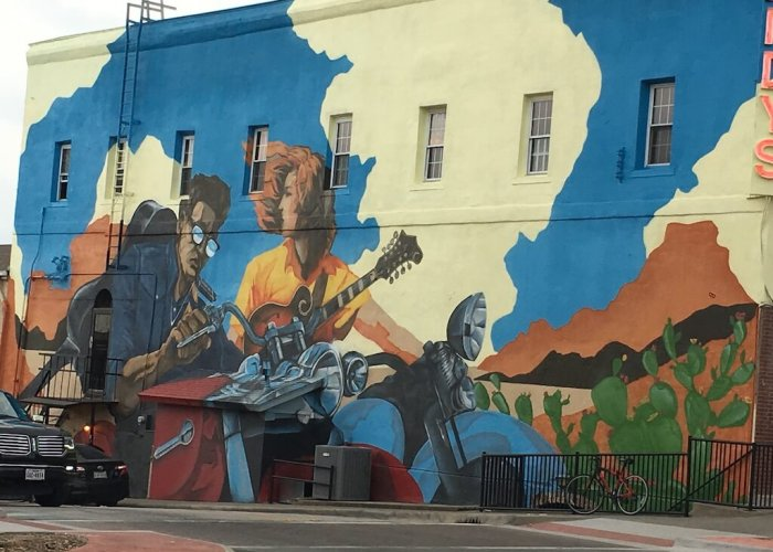 Murals around Denton