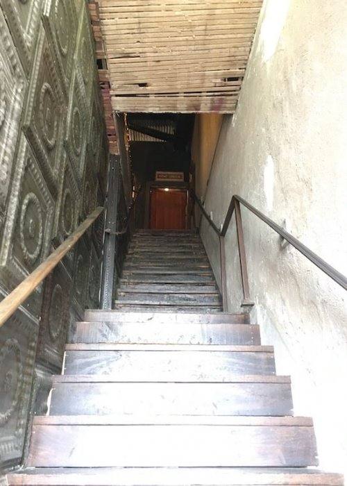 Stairs to the Secret Bar aka Paschall's Bar