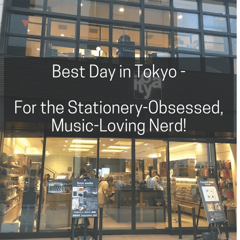 Best Day in Tokyo for the Stationery-Obsessed, Music-Loving Nerd
