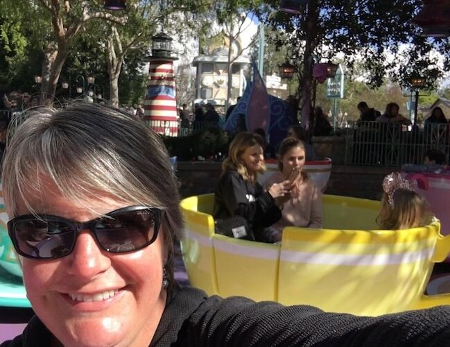 TeaCups at Disneyland. My FAV ride!